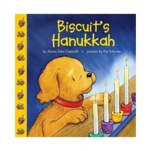 cover of Biscuit's Hanukkah board book