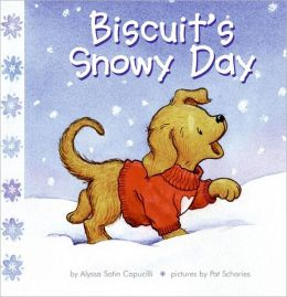 cover of Biscuit's Snowy Day childrens book