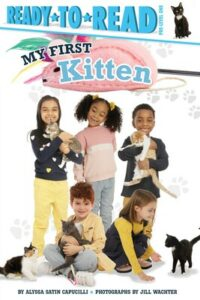 childrens book cover of My First Kitten