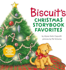 cover of childrens book Biscuit's Christmas Storybook Favorites