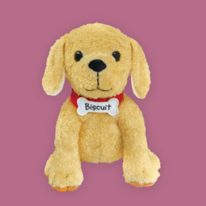 biscuit plush doll puppy toy